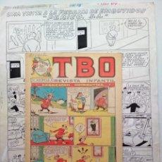 Cómics: ¡¡¡REBAJADO!!! ORIGINAL DE BENEJAM DE GRAN TAMAÑO. Lote 156712750