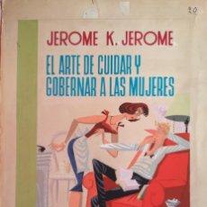 Cómics: ¡¡¡REBAJADO!!! ESPECTACULAR PORTADA DE GARCIA LORENTE EL GORRIÓN 2. Lote 156714078