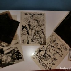 Cómics: FOTOMECANICA DE DOS ALMANAQUES DE PACHO DINAMITA,AÑOS 1954 Y 1955. Lote 157775966