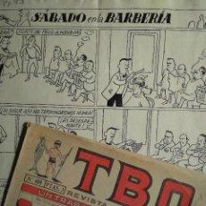 Cómics: ¡¡¡REBAJADO!!! ORIGINAL DE CASTANYS PUBLICADO EN TBO 408. Lote 157931974