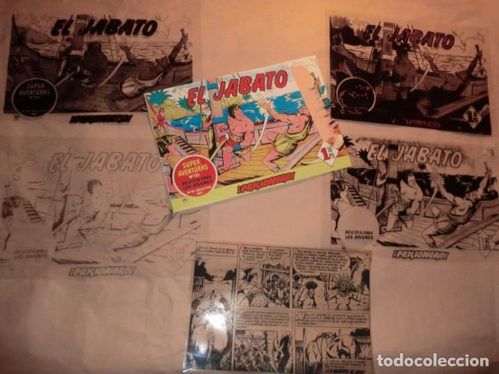 FOTOMECANICA NUMERO 24 DEL JABATO, COMPLETA (Tebeos y Comics - Art Comic)
