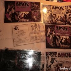 Cómics: FOTOMECANICA DE UN EJEMPLAR AMOK EL GIGANTE,COMPLETA. Lote 158920070