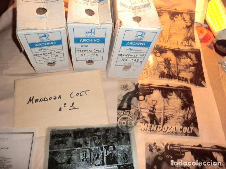 !!ATENCION!!,COLECCION COMPLETA DE MENDOZA COLT EN FOTOMECANICA INTEGRA!!DE COLECIONISTA!!SIN TEBEOS (Tebeos y Comics - Art Comic)