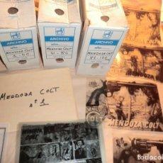 Cómics: !!ATENCION!!,COLECCION COMPLETA DE MENDOZA COLT EN FOTOMECANICA INTEGRA!!DE COLECIONISTA!!SIN TEBEOS. Lote 158921010