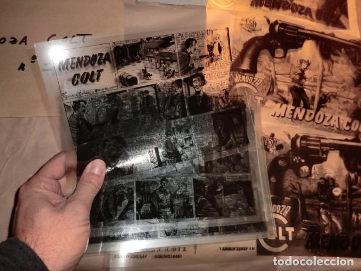 Cómics: !!ATENCION!!,COLECCION COMPLETA DE MENDOZA COLT EN FOTOMECANICA INTEGRA!!DE COLECIONISTA!!SIN TEBEOS - Foto 3 - 158921010