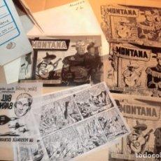 Cómics: FOTOMECANICA COMPLETA DE MONTANA 25 NUM, !!UNA JOYA DE COLECCION!! SOLO EL FIN DE SEMANA. Lote 159203282