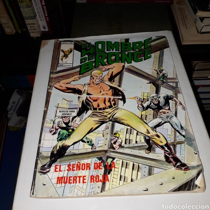 EL HOMBRE DE BRONCE, CÓMICS ART, 6 (Tebeos y Comics - Art Comic)