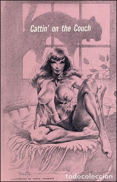Cómics: FRANK FRAZETTA. SENSUOUS FRAZETTA. 176 PÁGINAS. EDICIÓN THE VANGUARD. NUEVO. - Foto 7 - 197940112