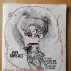 Cómics: PORTAFOLIO HOLLYWOOD STARS 6 LAMINAS - JOSE PEPE GONZALEZ (1939-2009) - NORMA COMICS. Lote 160840974