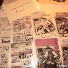Cómics: FOTOMECANICA EL ESPADACHIN ENMASCARADO ,ALMANAQUE 1957,( SOLO PORTADAS). Lote 160932602