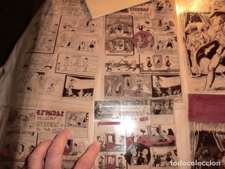 Cómics: FOTOMECANICA EL ESPADACHIN ENMASCARADO ,ALMANAQUE 1957,( SOLO PORTADAS) - Foto 2 - 160932602