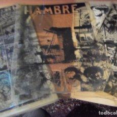 Cómics: ORIGINAL COMICS ART, CELULOIDE WORD WAR2 (HAMBRE) EDICION COMPLETA. LAINEZ 1960. Lote 161838566