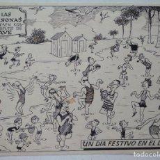 Cómics: ¡¡REBAJADO!! ORIGINAL DE BENEJAM DE 1950. Lote 162105118