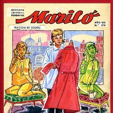 Cómics: DIBUJO ORIGINAL COLOR, PORTADA MARILO Nº 174 , JOSE LUIS ,ORIGINAL, M5. Lote 164570918