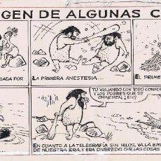 Cómics: ¡¡¡REBAJADO!!! ORIGINAL DE SALVADOR MESTRES PUBLICADO EN TBO TITULADO EL ORIGEN DE ALGUNAS COSAS. Lote 164891602