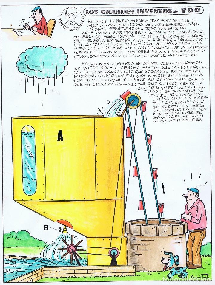 ¡¡¡ REBAJADO!!! LOS GRANDES INVENTOS DEL TBO POR SABATES (Tebeos y Comics - Art Comic)