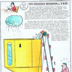 Cómics: ¡¡¡ REBAJADO!!! LOS GRANDES INVENTOS DEL TBO POR SABATES. Lote 164892806