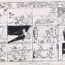 Cómics: ¡¡¡REBAJADO!!! ORIGINAL AYNE TITULADO EL EGIPTÓLOGO. Lote 166695790
