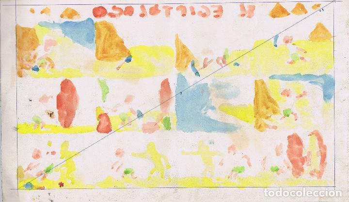 Cómics: ¡¡¡REBAJADO!!! Original Ayne titulado El Egiptólogo - Foto 2 - 166695790