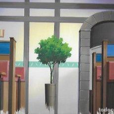 Cómics: FONDO A COLOR ORIGINAL HAND PAINTED BACKGROUND JAPANESE ANIMATION PINTADO A MANO 128 CEL-GA. Lote 166796018