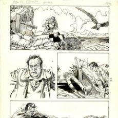 Cómics: (BD) DIBUJO ORIGINAL DE FRANCISCO SOLANO - EL ETERNAUTA, EPISODIO 4 P.10, EDITORIAL RECORD. Lote 167496232