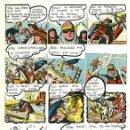 Cómics: (BD) DIBUJO ORIGINAL DE JOSÉ ANTONIO FER - EL GUERRERO DEL ANTIFAZ, EL PAPUS N.70 P.19, 1980.. Lote 167658584