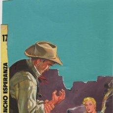 Cómics: (BD) DIBUJO ORIGINAL DE JORDI LONGARÓN - RANCHO ESPERANZA 1962 PORTADA HAZAÑAS DEL OESTE. Lote 168186596