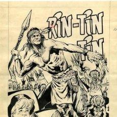 Cómics: (BD) DIBUJO ORIGINAL DE RICARDO BEYLOC - EL TORNEO DE LA MUERTE, RIN-TIN-TIN N.117, 1963. Lote 168681344