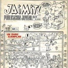 Cómics: (BD) PORTADA ORIGINAL DE KARPA - UN RARO EJEMPLAR JAIMITO AÑO XXVIII N.1219 EXTRA DE PRIMAVERA 1973. Lote 169199264