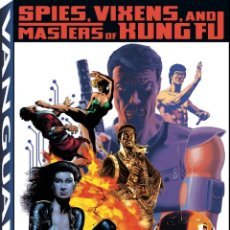 Cómics: PAUL GULACY. THE ART OF PAUL GULACY. SPIES, VIXENS AND MASTERS OF KUNG. 128 PÁGINAS. NUEVO.. Lote 169347556