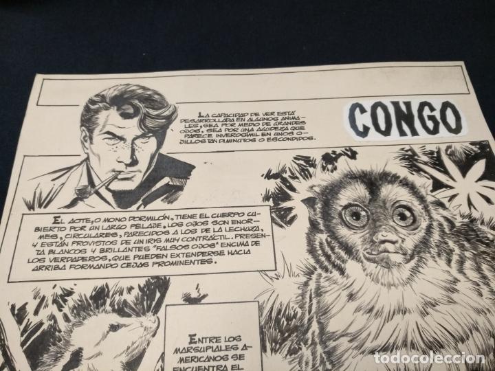 Cómics: SELECCIONES ILUSTRADAS - DIBUJO ORIGINAL - FIRMADO GUINOVART - 1960 - - Foto 2 - 170689665