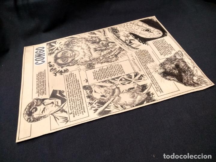 Cómics: SELECCIONES ILUSTRADAS - DIBUJO ORIGINAL - FIRMADO GUINOVART - 1960 - - Foto 9 - 170689665