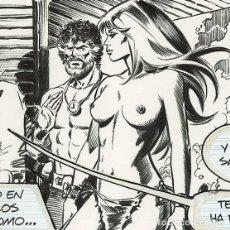 Cómics: ENRIC BADIA ROMERO - AXA DAILY STRIP #1347 (1982). Lote 170722060