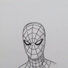 Cómics: SPIDER-MAN DIBUJO ORIGINAL PAOLO RIVERA MARVEL. Lote 170980733