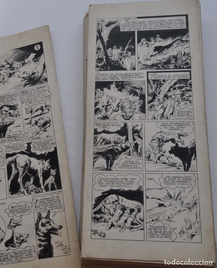 Cómics: STRIPS COMIC ORIGINAL MOWGLI EL LIBRO DE LA SELVA. 31 PAGINAS EN CARTÓN DURO. 50 X 22 CM - Foto 5 - 171674630