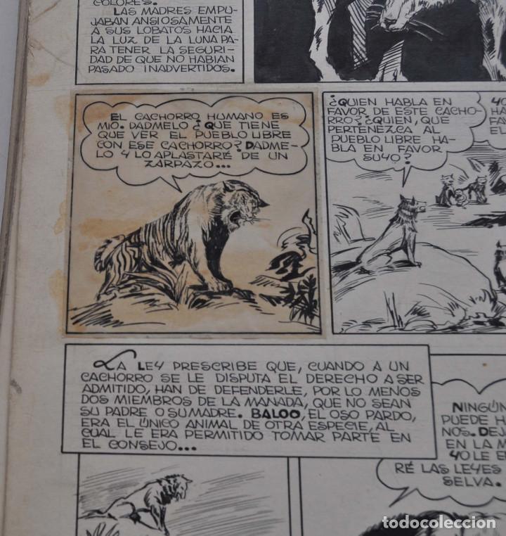 Cómics: STRIPS COMIC ORIGINAL MOWGLI EL LIBRO DE LA SELVA. 31 PAGINAS EN CARTÓN DURO. 50 X 22 CM - Foto 12 - 171674630