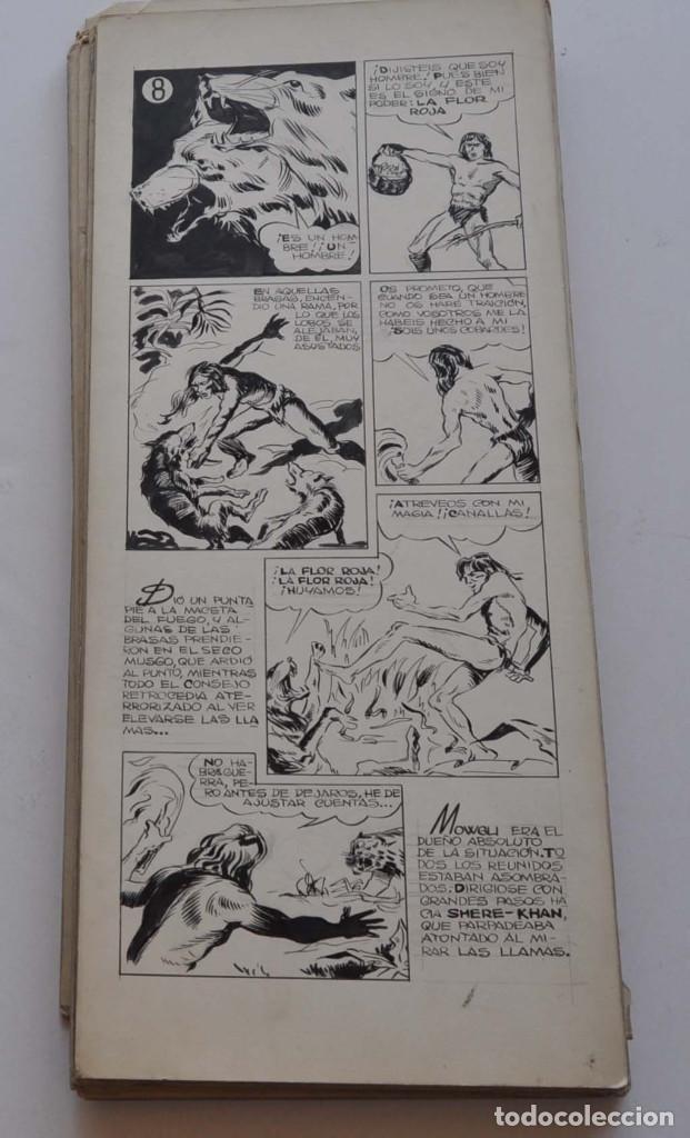 Cómics: STRIPS COMIC ORIGINAL MOWGLI EL LIBRO DE LA SELVA. 31 PAGINAS EN CARTÓN DURO. 50 X 22 CM - Foto 16 - 171674630