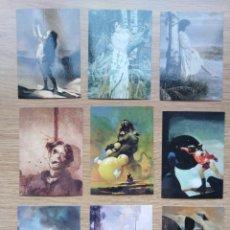 Cómics: TRADING CARD DE JEFFREY JONES I COLECCIÓN DE 21 CROMOS CARDS. ILUSTRACIONES DEL ARTISTA. Lote 173420095