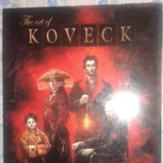 Cómics: THE ART OF KOVECK: NORMA. Lote 174242088