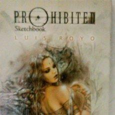 Cómics: LUIS ROYO PROHIBITED SKETCHBOOK, NOMA EDITORIAL. Lote 174344235