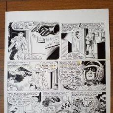 Cómics: DIBUJO ORIGINAL ZARPA DE ACERO MAYO 1969 VERTICE. Lote 175603790
