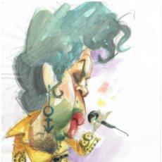 Cómics: PRINCE - CARICATURA ORIGINAL - JOAN VIZCARRA. Lote 175681477