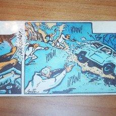 Fumetti: ORIGINAL A TODO COLOR DE SENTO LLOBELL - AÑOS 70 - PERFECTO ESTADO. Lote 175704977