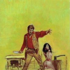 Cómics: WESTERN COVER #6 - PORTADA ORIGINAL - SANJULIAN. Lote 175750627
