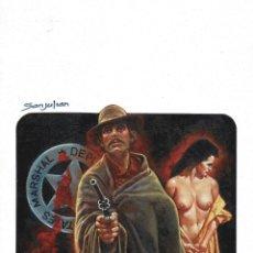 Cómics: WESTERN COVER #3 - PORTADA ORIGINAL - SANJULIAN. Lote 175751254