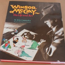 Cómics: WINSOR MCCAY - HIS LIFE AND ART - NO ES UN COMIC - EN INGLÉS - MUY BUEN ESTADO - MC CAY. Lote 176069104