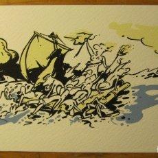 Cómics: PERE JOAN - SERIGRAFIA FIRMADA Y NUMERADA. Lote 176450984