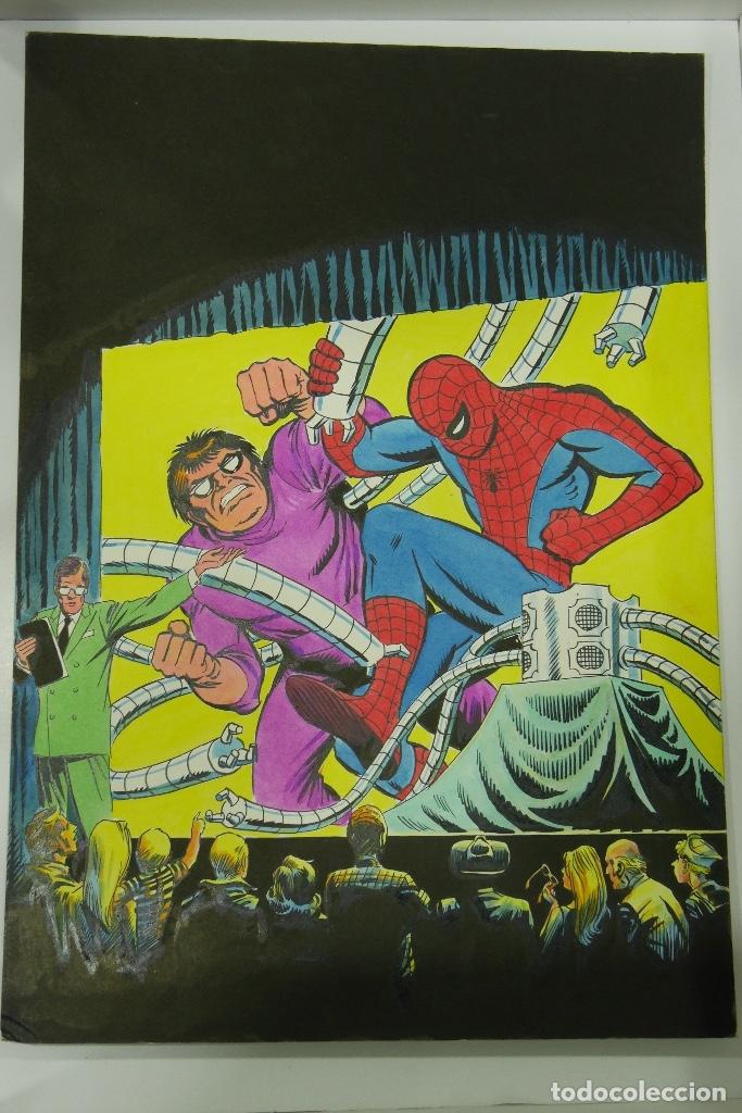 LOPEZ ESPI GRAN LOTE 21 PORTADAS ORIGINALES (Tebeos y Comics - Art Comic)