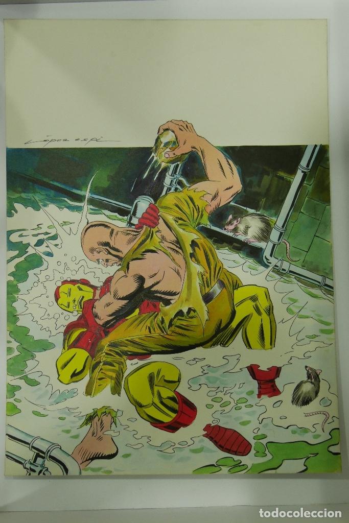 Cómics: Lopez Espi Gran lote 21 portadas originales - Foto 4 - 176593994