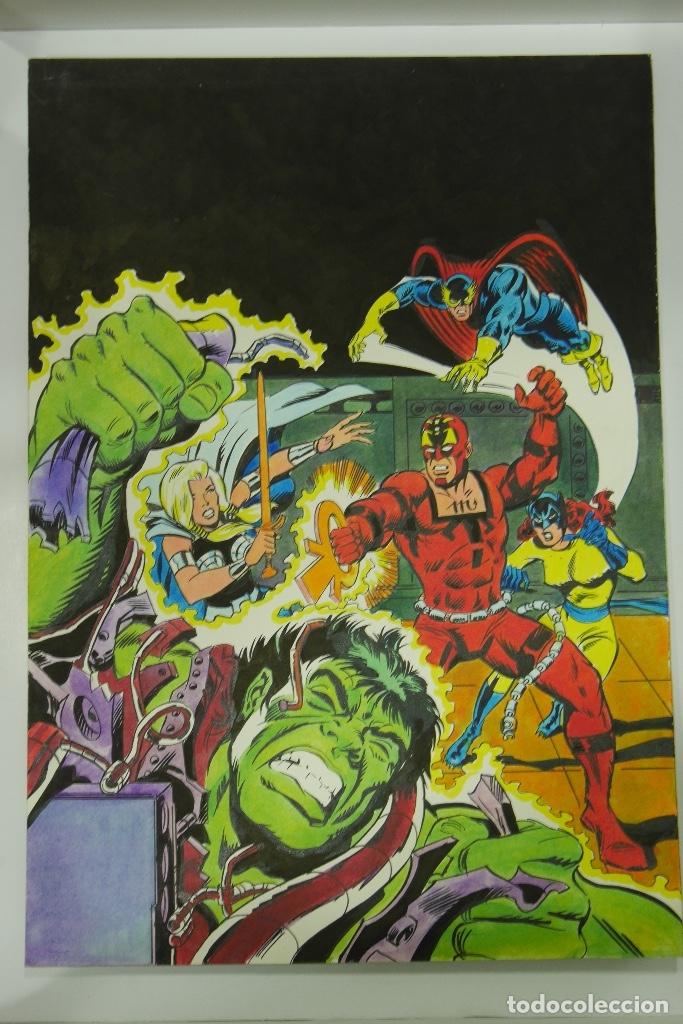 Cómics: Lopez Espi Gran lote 21 portadas originales - Foto 9 - 176593994